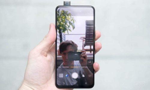 pop up camera phone